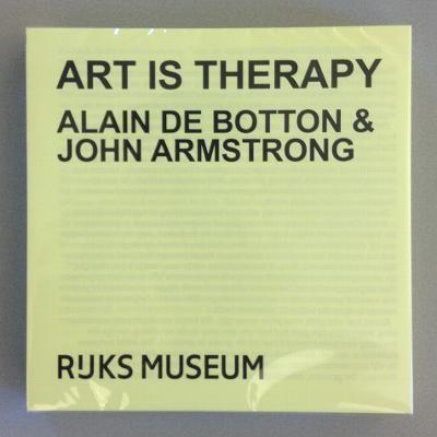 Art Is Therapy daagt je uit om opnieuw na te denken over de redenen waarom je het museum bezoekt.