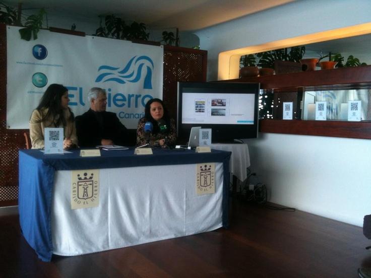 Presentation of the new #tourism #app of El Hierro!
