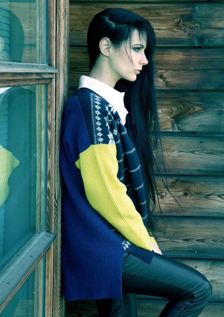 iiS Woodling — iis of Norway by Julie Pike. Love this jacket:)