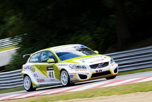 WTCC Volvo Olsbergs Green Racing Volvo C30