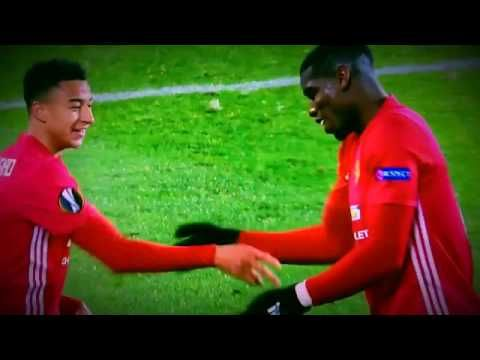 Paul Pogba and Jesse Lingard's celebration last night! #MUFC http://youtu.be/FixsAh682QQ