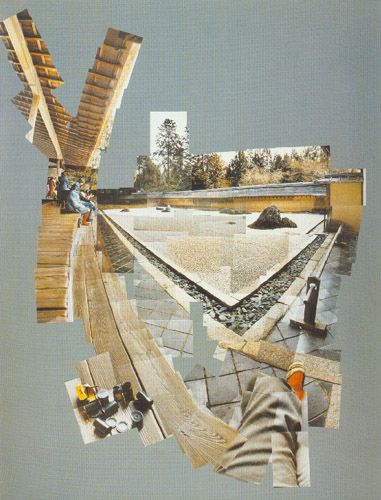 david hockney photo collage | David Hockney.