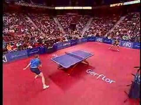 Table Tennis -Spectacular!! Use for Inferencing -  What can you infer about these tennis players?