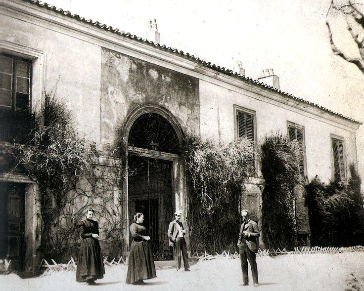 Madrid antiguo. La quinta del Sordo. En 1819 compró D. Francisco de Goya una casa con finca situada entre las actuales calles de Juan Tornero, Caramuel, Baena y Dña. Mencia, muy próxima al arranque del Paseo de Extremadura.