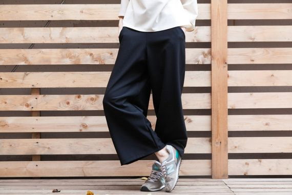 Wide Pants by myfigura on Etsy