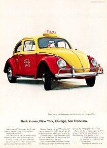 Taxi. Photo: Volkswagen of America