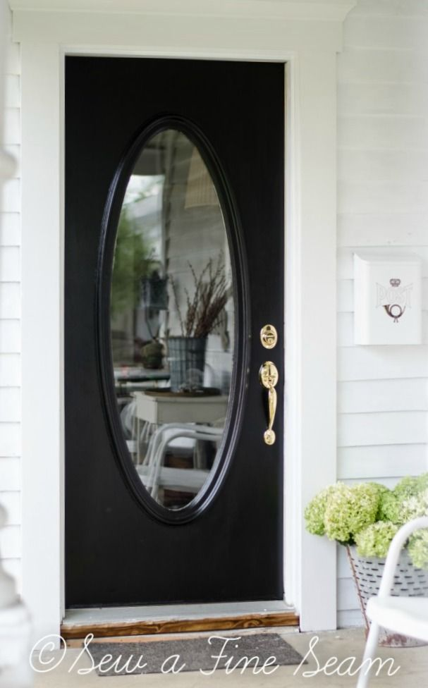 Front Door Redo By Sew A Fine Seam Color Elegant Front