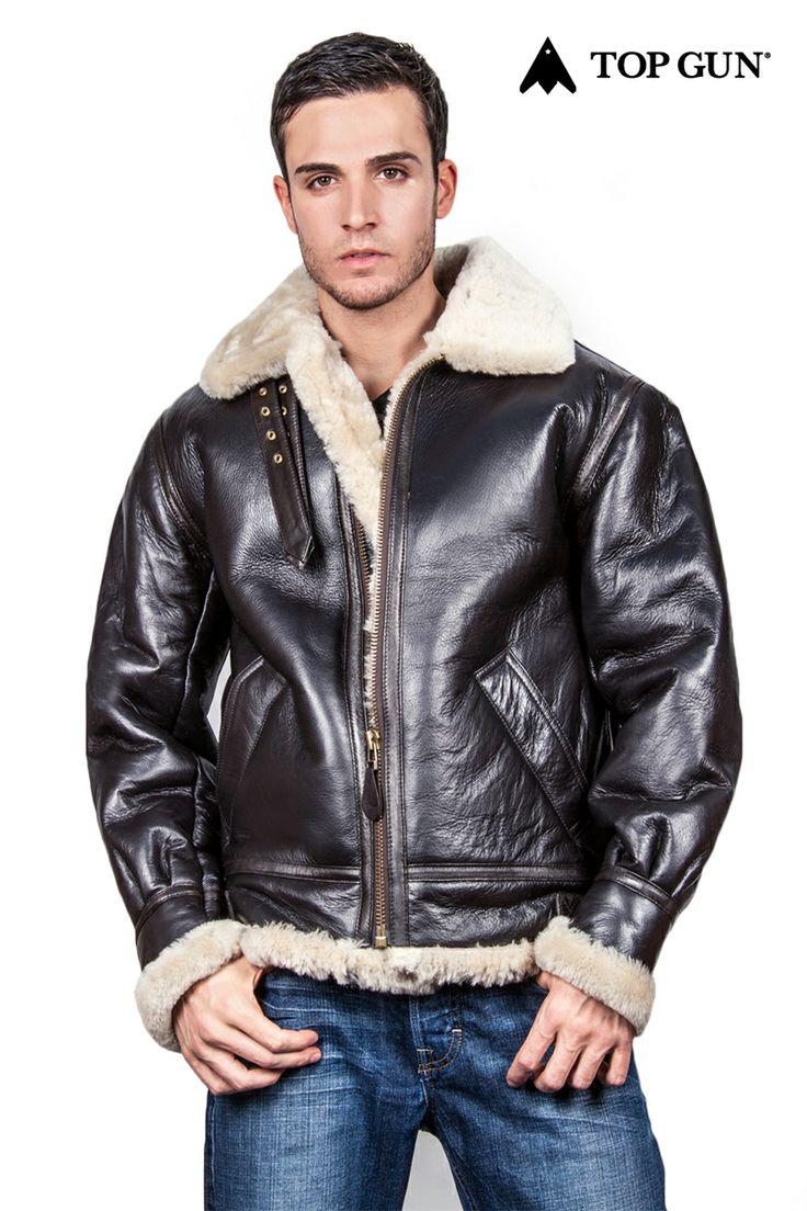 Top gun leather jacket