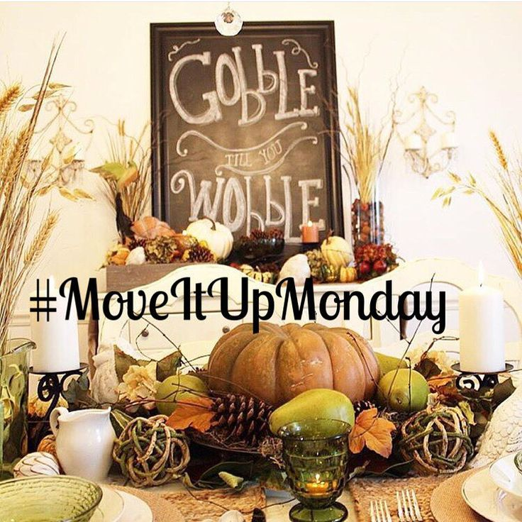 "Sheana on Instagram: ""There's still time to move up an old post for #MoveItUpMonday! There's still time for a chance to be featured here and there's still time for a chance to win a custom made wooden initial sign from @the_rustic_beach_house! Follow/Tag @smalltowngirllife & Hashtag a new post #MoveItUpMonday! Isn't Brandi's @kozykountrykottage Thanksgiving tablescape beautiful!"""