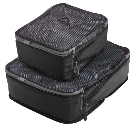 Pack perfectly for the ultimate B&B getaway! Win a set of 2 TravelSmith Compression Cubes in our grand prize!