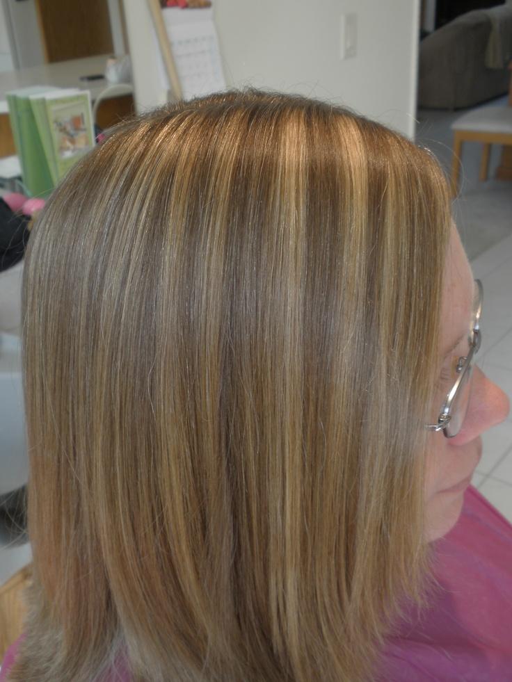 3D Color Gold Blonde Amp Cool Blonde On Dark Ash Blonde