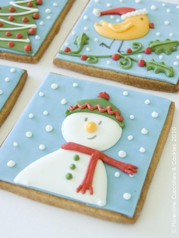#cookies #galletas #navidad #christmas #reposteriacreativa #glasa #fondant