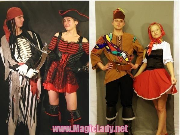Карнавальные костюмы для двоих
