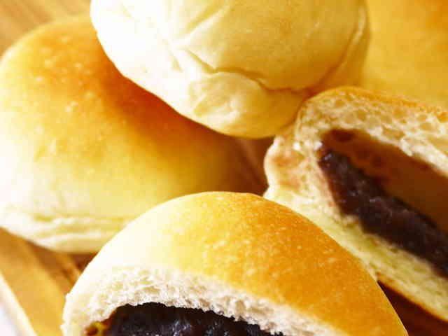 【お家で菓子パン作り】あんパン(卵なし)の画像