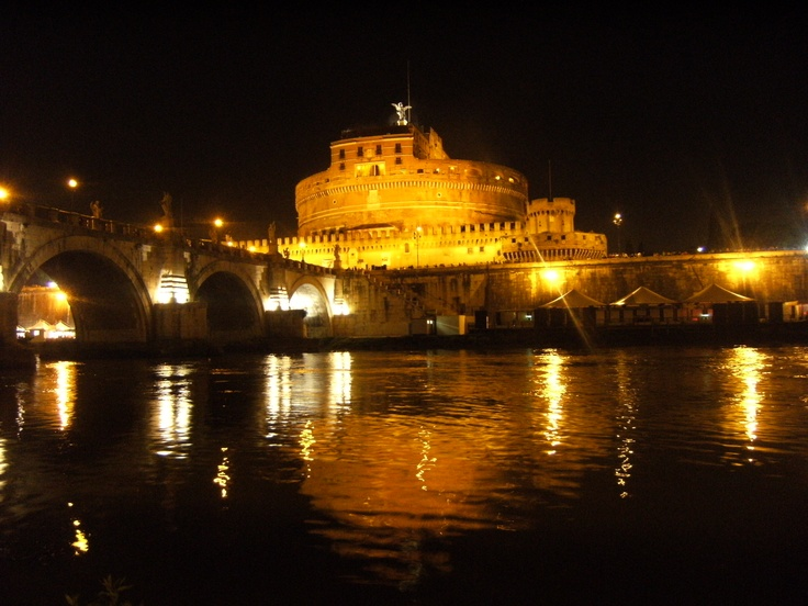 #Rome Castel Sant'Angelo and the bridge