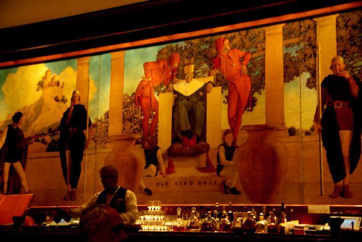 St. Regis Bar - Manhattan - Maxfield Parrish Mural - Old King Cole