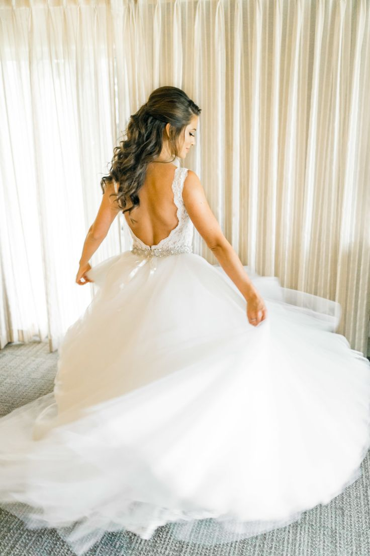 Wedding Dress: Pnina Tornai - http://www.stylemepretty.com/portfolio/pnina-tornai Photography: Natalie Schutt Photography - natalieschutt.com   Read More on SMP: http://stylemepretty.com/vault/gallery/60119