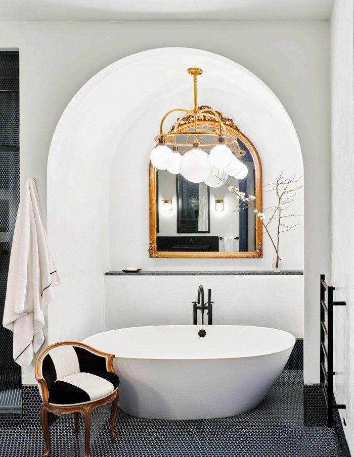 neue bad ideen schöne ovale formen | Badideen in 2019 | Bäder ideen ...