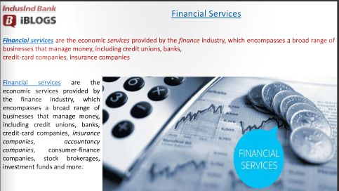 #FinancialServices are provided by finance industry and gst brings incremental challenges due to the nature of their operations.