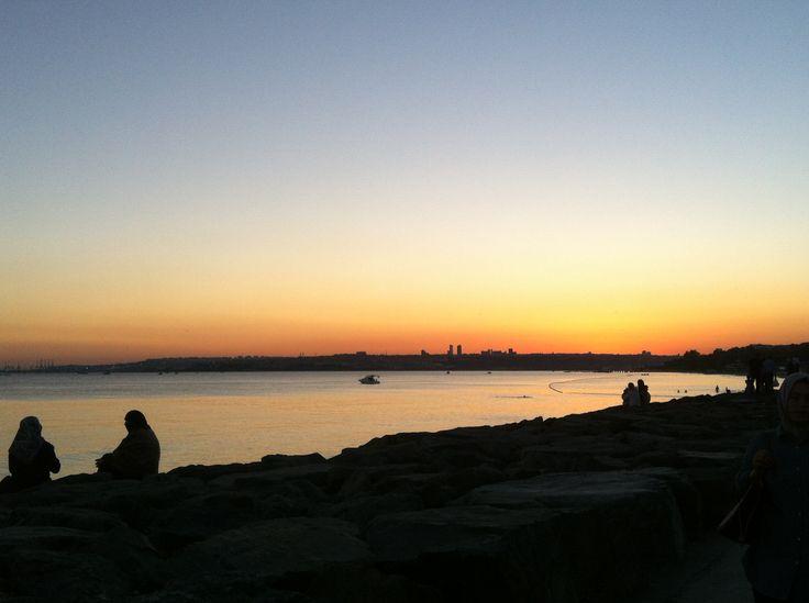 Florya Sahil #beach #sunset #LoveIstambul