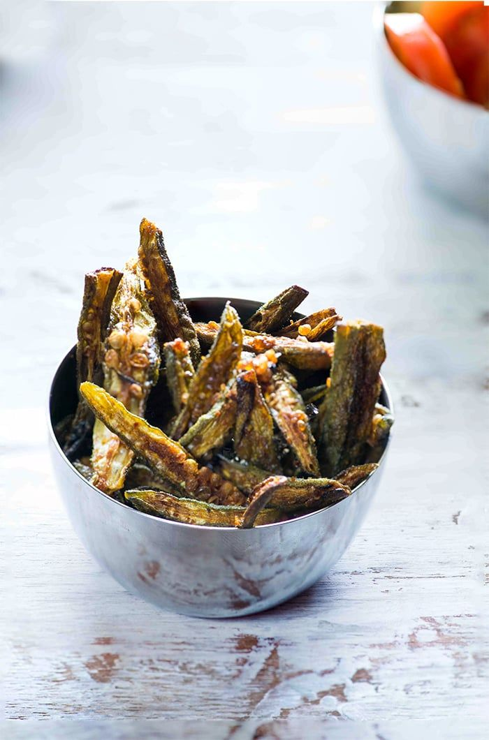 Kurkuri bhindi is easy bhindi or okra frey recipe which can be served as a snack…