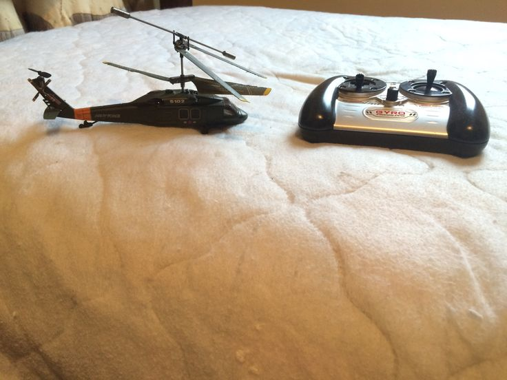 My Blackhawk replica RC chopper