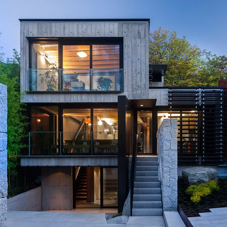 a family residence in Vancouver / by Measured Architecture