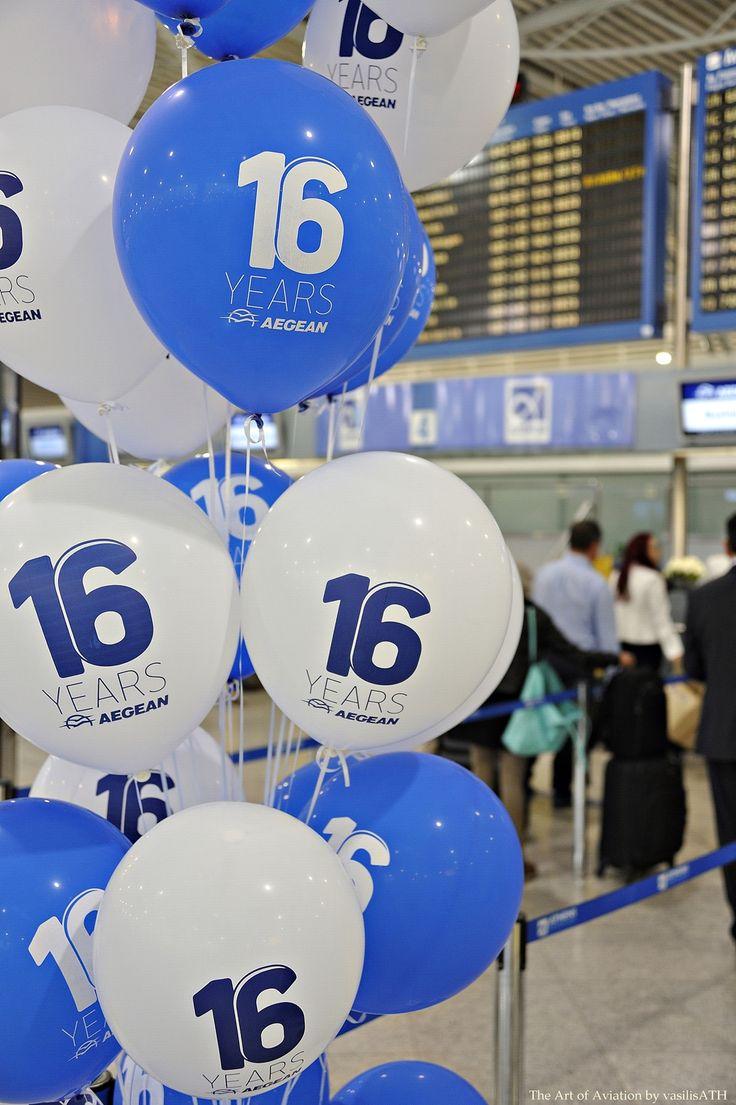 4. 16 χρόνια AEGEAN, 16 χρόνια ταξιδεύουμε μαζί σας!