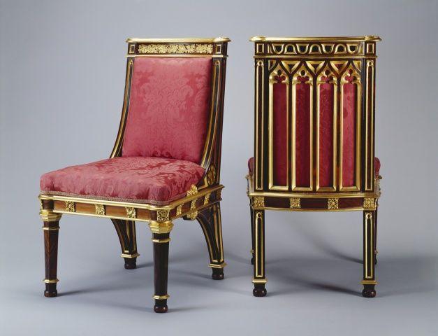 1827 и 1829 короля Георга IV партнерство Морель и Седдон для столовой (ныне Государственный столовой). Николай Сморчков раньше работал для принца Уэльского, впоследствии Георга IV, в Карлтон-хаус и Королевский павильон в Брайтоне. Впоследствии, он поручил разработать и предоставить новые квартиры разработан сэром Джеффри Wyattville (1766-1840) для короля в Виндзорском замке. Для того, чтобы выполнить контракт, он вступил в партнерство с Джордж Седдон в III, чья семья была большой и давно…