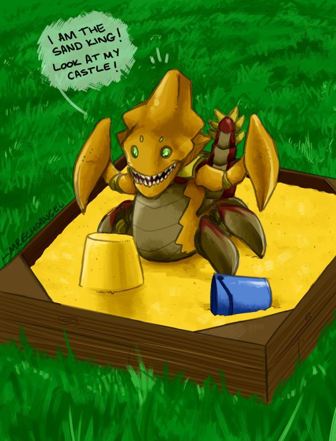 I am the Sand King. Look at my Castle :)) - DotaCaps - Funny Dota Images