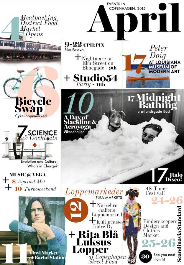 What's On in Copenhagen - April 2015 Events Calendar | Scandinavia Standard