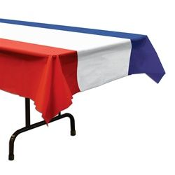 Patriotic table cover..