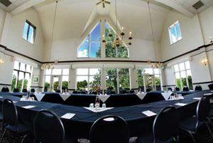 The James Harris is a favourite meeting space. www.elmhurstinn.com