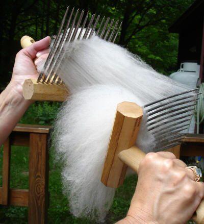 combing wool