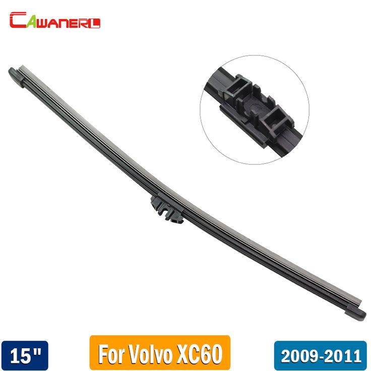 "Cawanerl 15"" 380mm Car Back Window Wiper Rubber Rear Windscreen Wiper Blade For Volvo XC60 2009 2010 2011 #Affiliate"
