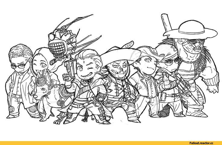 Fallout,Фоллаут,,фэндомы,Fallout New Vegas,Fallout art,Аркейд Геннон,Fallout персонажи,Fallout компаньоны, ,Робоглаз,Fallout роботы