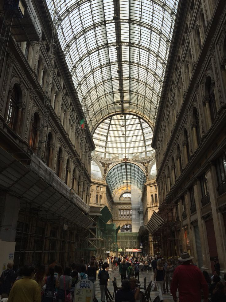 Napoli - Galleria Umberto 1, Italia