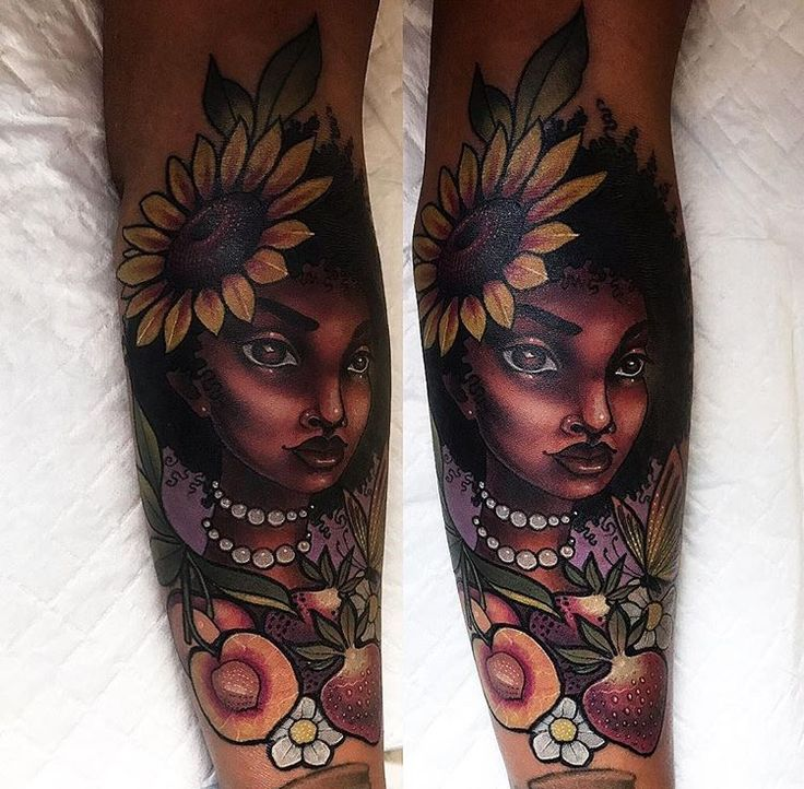17 Best Ideas About Dark Skin Tattoo On Pinterest