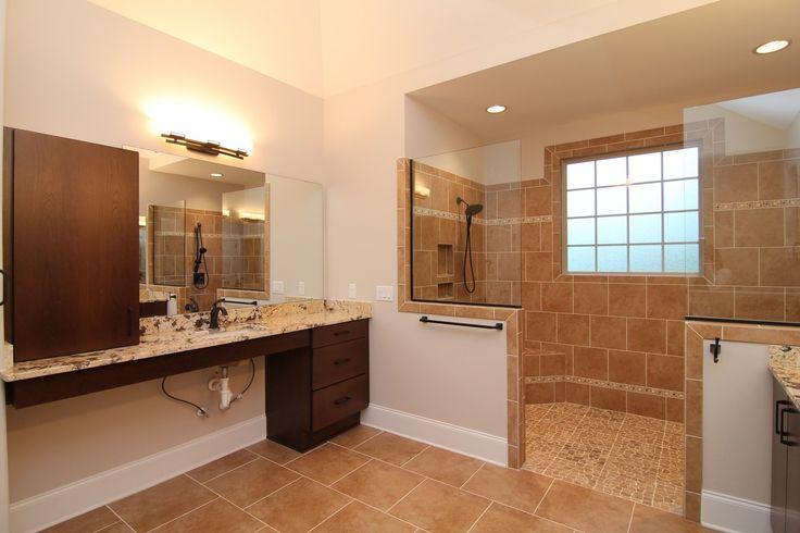 Outstanding Handicap Accessible Bathroom Design Pictures