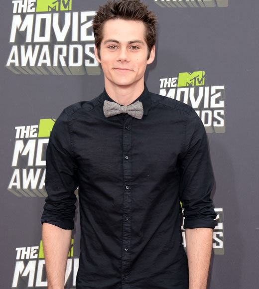 Dylan OBrien. Extra adorable in that bow tie ;)