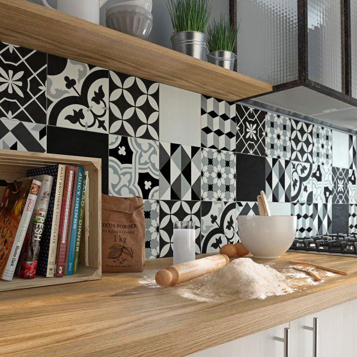 les 25 meilleures id es concernant cr dence adh sive. Black Bedroom Furniture Sets. Home Design Ideas