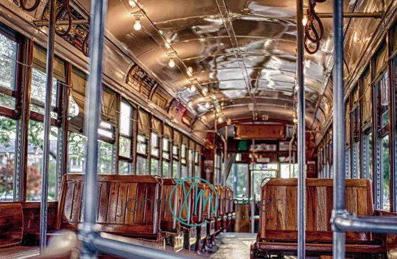 New Orleans Streetcar,  French Quarter Art, New Orleans Art, Fine Art Print