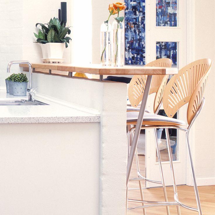 Køkkenbar. Samspil af designforkælelse