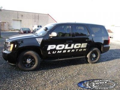 Lumberton Police Department Chevy Tahoe Looking Stealth