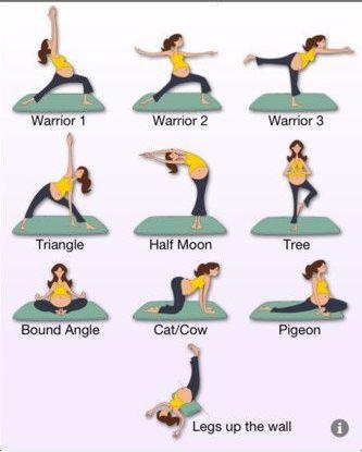 prenatal yoga warrior poses