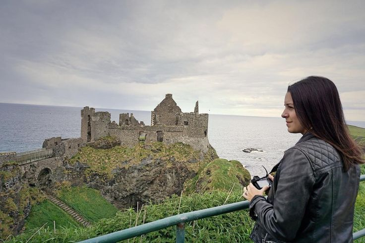 The Dunluce Castle is a Medieval Irish Castle on the Antrim Coast and one of the most iconic monuments in Northern Ireland.