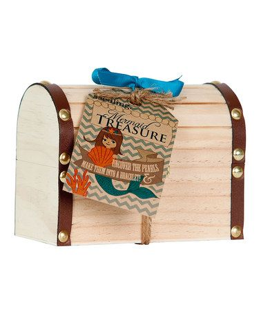 Take a look at this Mermaid Treasure Pearl Excavation Kit by Seedling on #zulily today!