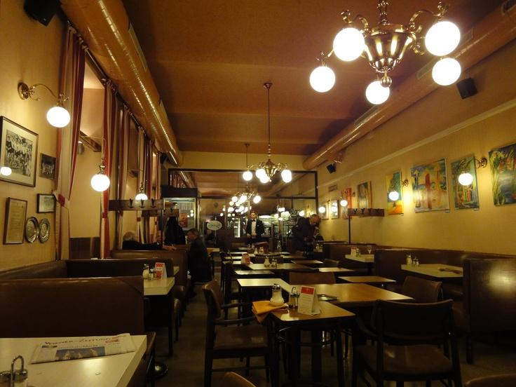 Café Hummel, Josefstädter Strasse 66, Vienna, Austria-----One of the best places on earth!!!
