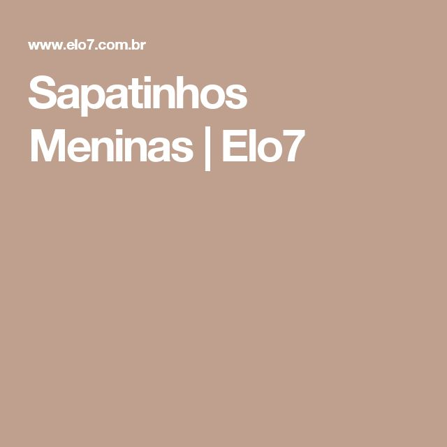 Sapatinhos Meninas | Elo7