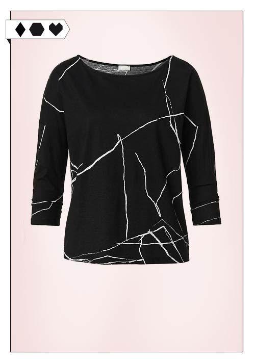 Shirt mit Graphic Print (Hessnatur): 100% Organic Cotton aus der Türkei. Fair hergestellt in Griechenland. VEGAN/ECO/SOCIAL/*39,95€*